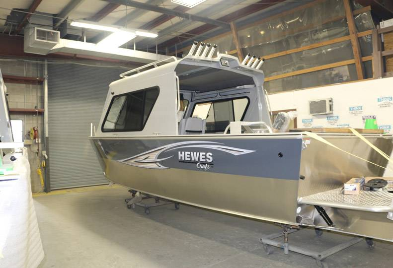 Hewescraft fishing boat maker preps for facility expansion > Spokane