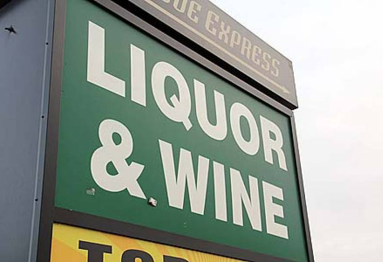 Retailers face pressure on liquor sales
