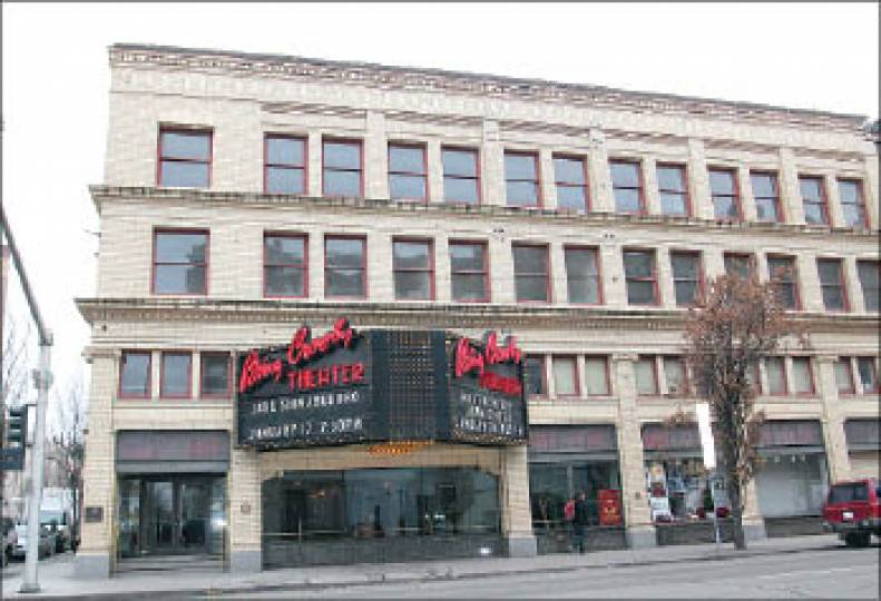 Bing Crosby Theater building in Spokane to be sold