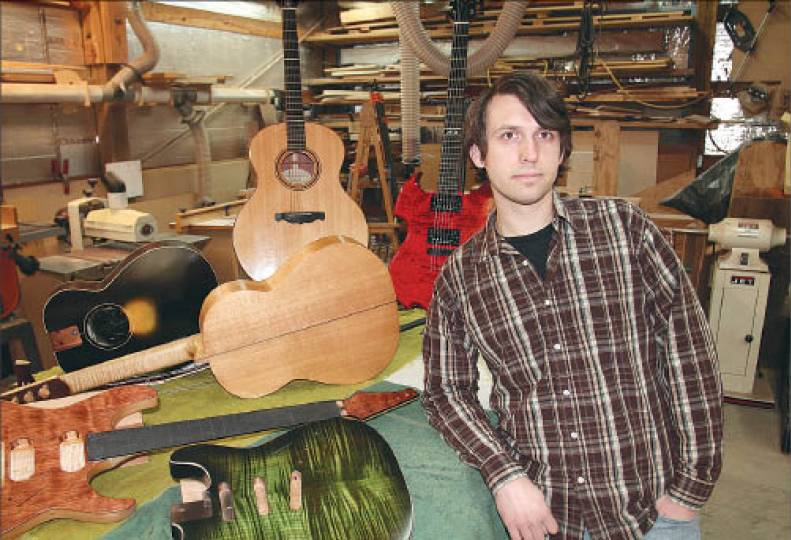 From lessons to luthier
