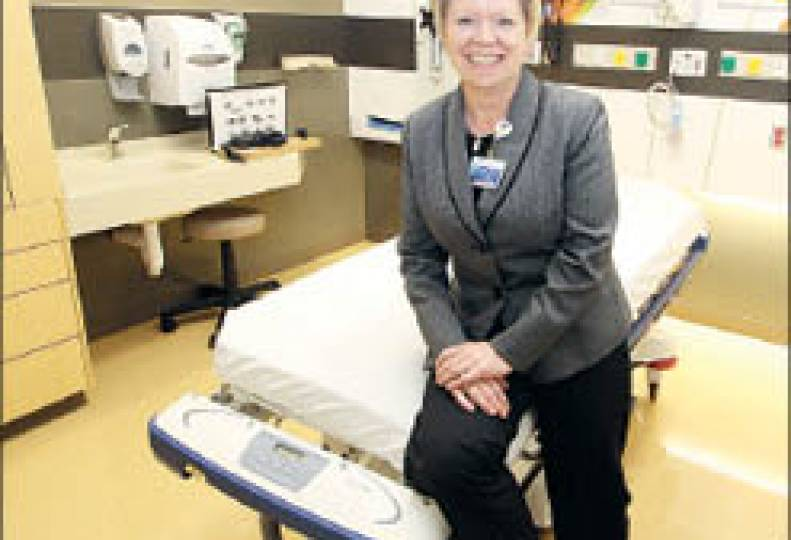 Elaine Couture is setting course for Providence Health Care